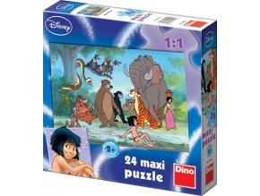 Walt Disney: Kniha džunglí - 24 maxi dílků