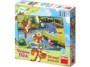 Walt Disney: Medvídek PÚ u vody - 24 maxi dílků