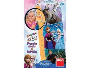 Walt Disney: Frozen Dětský metr - 150 dílků + lepidlo