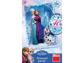 Walt Disney - Frozen: Ledové království - diamond včetně 40 samolepících kamínků
