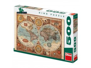 Mapa Světa z r. 1626