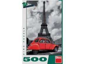 Citroen a Eiffelovka