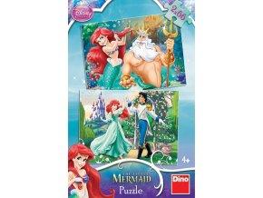 Walt Disney: Ariel - 2 x 66 dílků