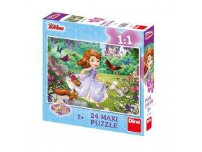 Walt Disney: Sofie v parku - 24 maxi dílků