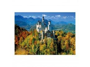 Neuschwanstein na podzim