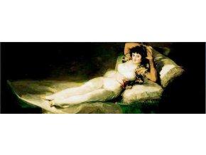 Goya: La Maya Vestida, 1803 - Gold edice - panorama