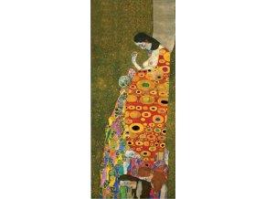 Klimt: Naděje vertikální - Gold edice