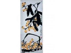 Chinese art: Ovoce - vertikální