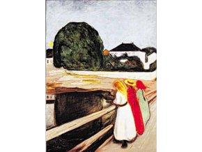 Munch: Dívky na mostě - Gold edice