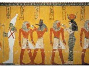 Egyptian art: Božstvo ve dvoraně - Gold edice