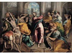 El Greco: Ježíš ženoucí kupce ze svatyně - Gold edice