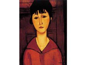 Amedeo Modigliani: Potrét mladé dívky