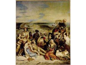 Delacroix Eugene: Massacre in Scio