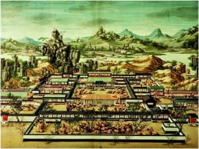 Chinese art: Imperial palace of Yuanming-Yun