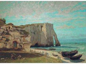 Courbet: Costa di Etrat dopo la tempesta