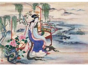 Chinese art: The Beautiful Chinese Yang Guifei