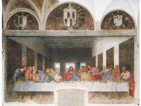 Leonardo da Vinci: Poslední večeře (Last Supper)