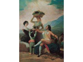 Goya: La Vendimia - reprodukce