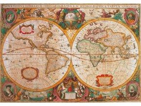 Antická mapa světa - HQC