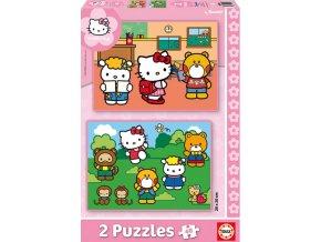 Hello Kitty - 2 x 48 dílků