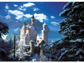 Neuschwanstein v zimě - HQC