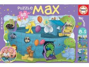 Noemova archa - podlahové maxi puzzle