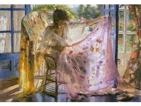 Vicente Romero: Růžový šál