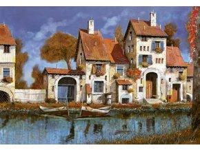 Guido Borelli: Stavení u jezera
