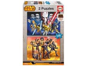 Star Wars - 2 x 100 dílků