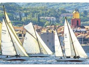 Plachtění v Saint-Tropez