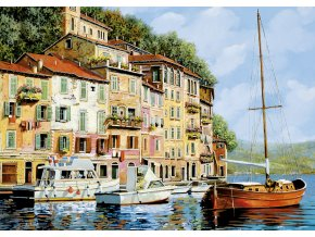 Goido Borelli: Červená loďka