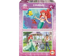 Walt Disney: Malá mořská víla Ariel - 2 x 20