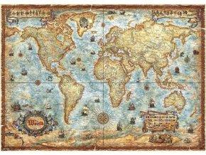 Mapa světa + plakát (The World + Poster)