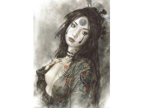 Luis Royo: Dead Moon - Zármutek (Sadness)
