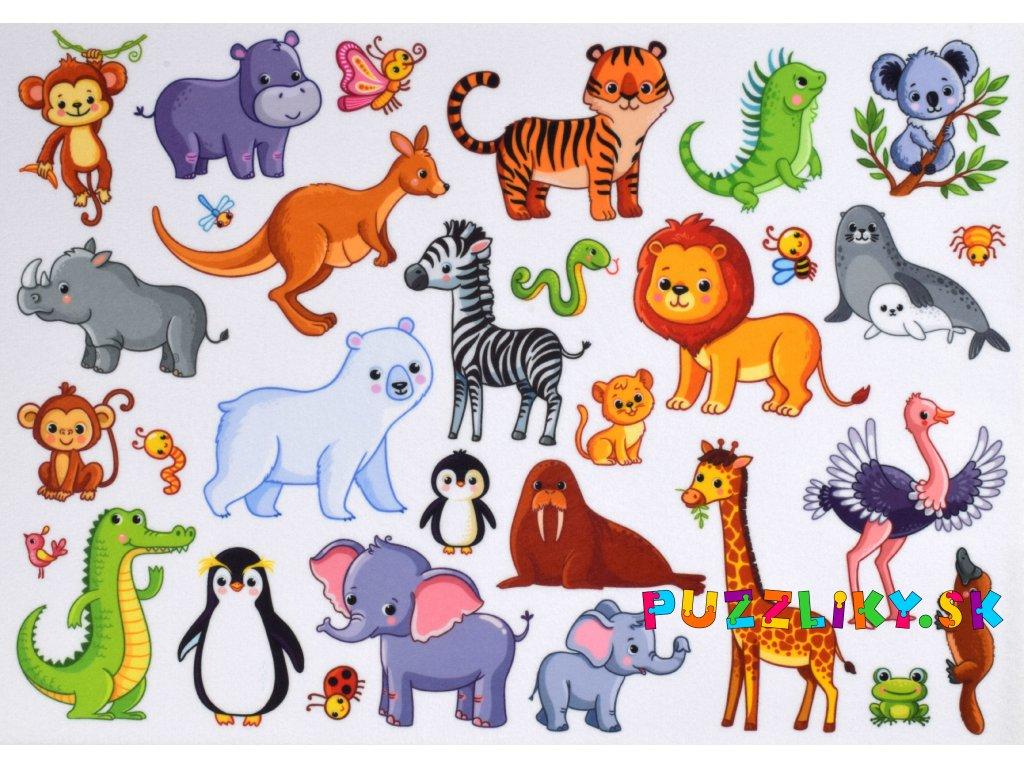 Veľké safari - plstený panel