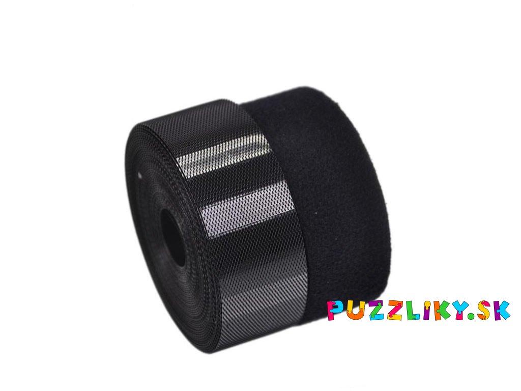 Detský suchý zips - čierny