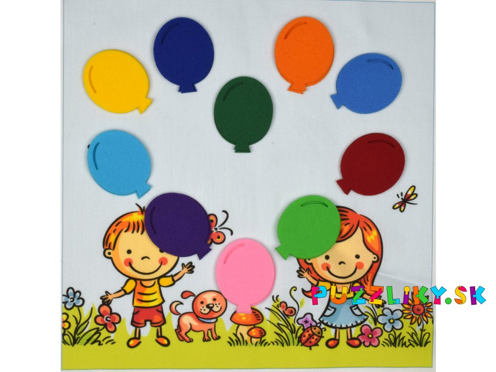Balóniky, balónky - výrezy