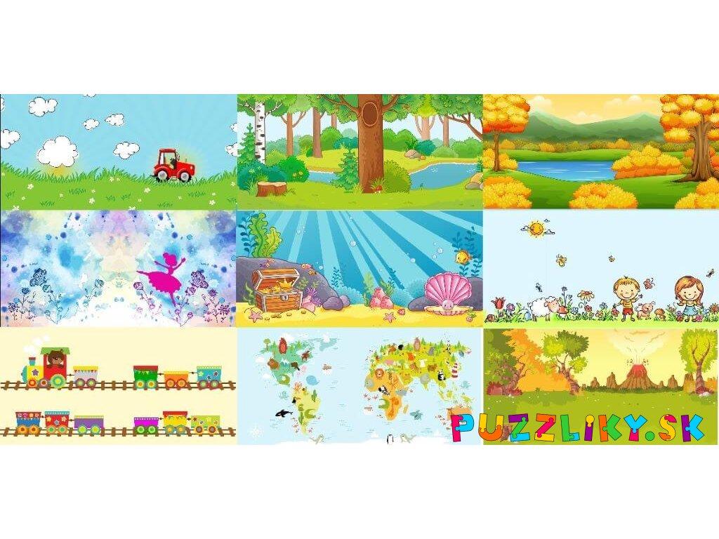 Obal/dvojstránka/pozadie 50x25 cm - bavlnený panel