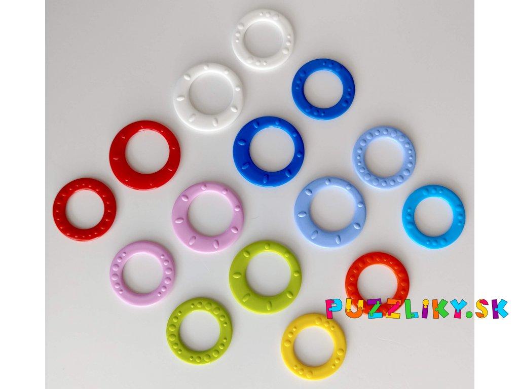 Plastové uzavreté krúžky