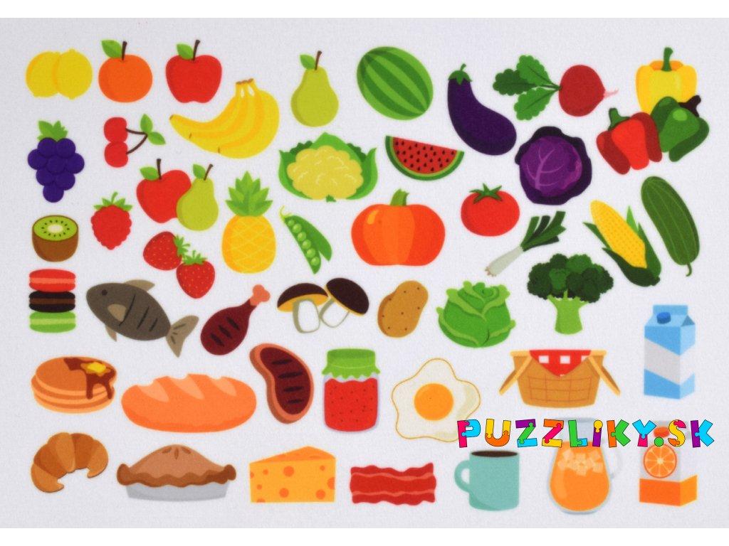 Jedlo - plstený panel