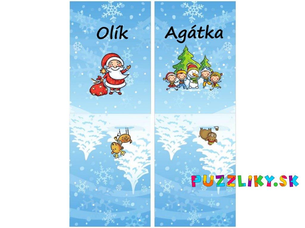 snehuliak santa