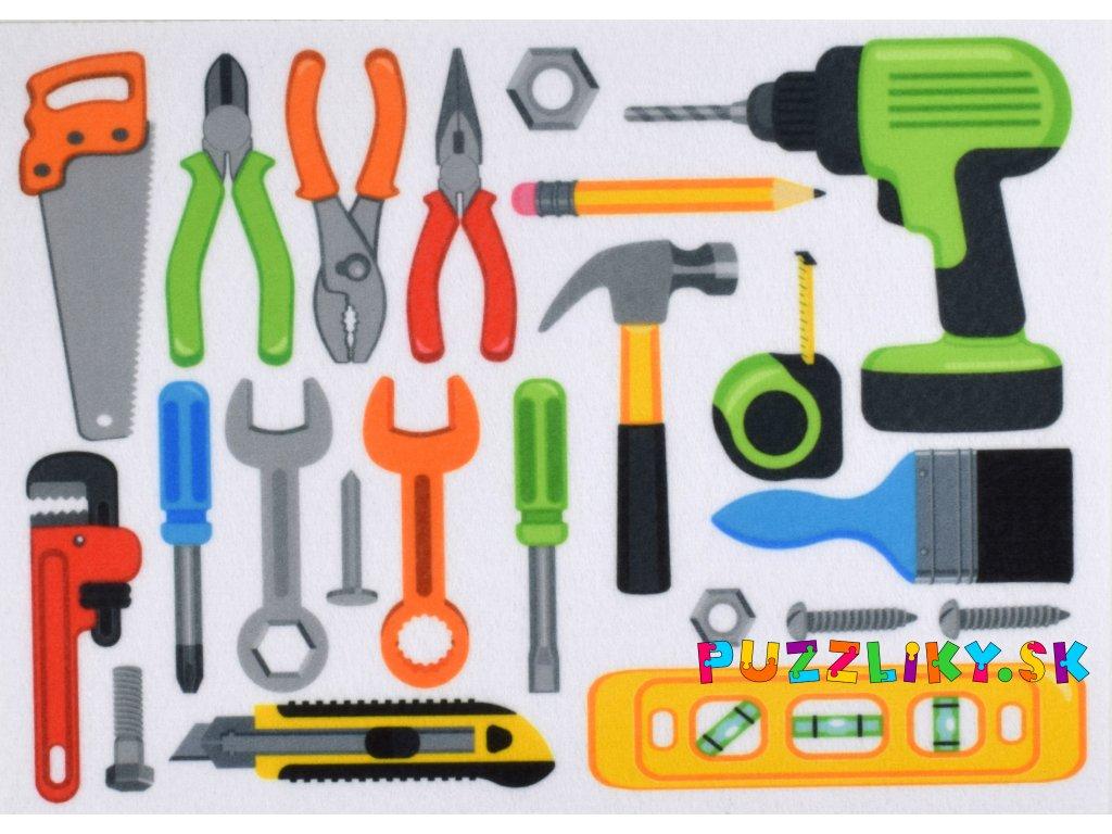 Nástroje - plstený panel
