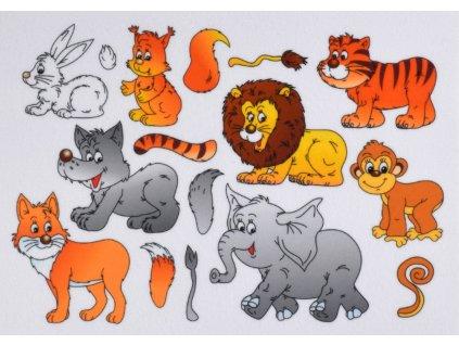 Zvieratká Chvosty/Ocasy Doplňovačka - plstený panel