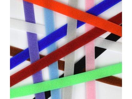 Suchý zips farebný - 10 cm