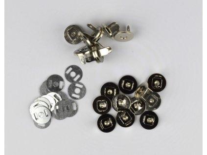 Zapínacie strieborné magnety