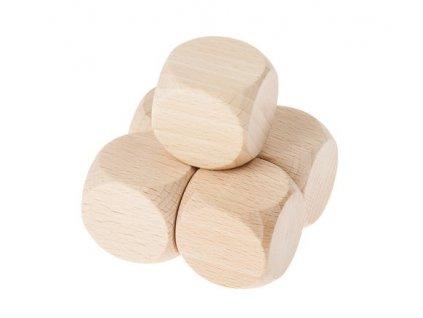 Drevená kocka/kostka 3x3x3cm