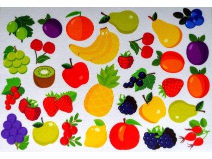 Ovocie - plstený panel