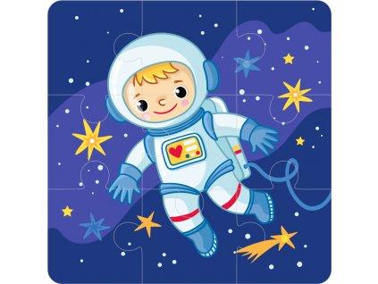 astronaut 3x3 puzzle
