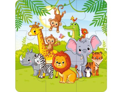 safari 3x3 puzzle