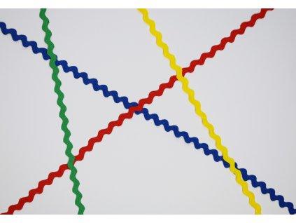 Cik-cak šnúrky (vlnka, hadovka) - metráž